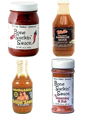 NC Hot & Spicy BBQ Sauce Gift